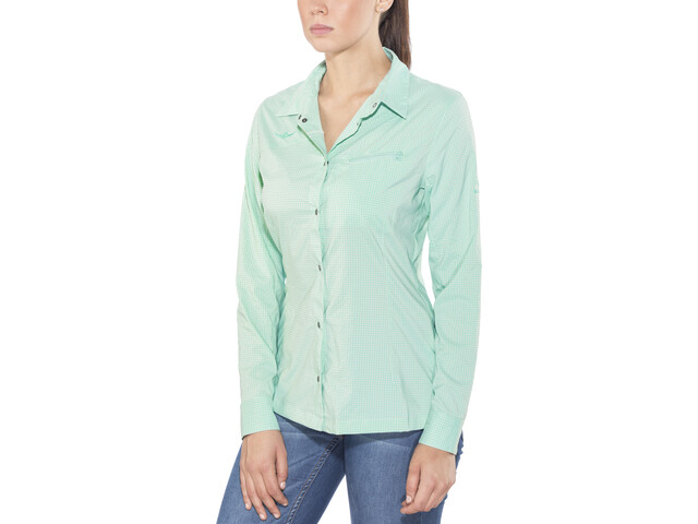 Kaikkialla Taija Blouse Damen light blue
